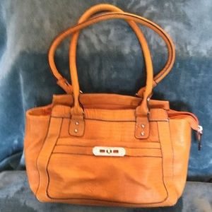 Orange Rosetti purse
